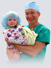 Dr G and child patient